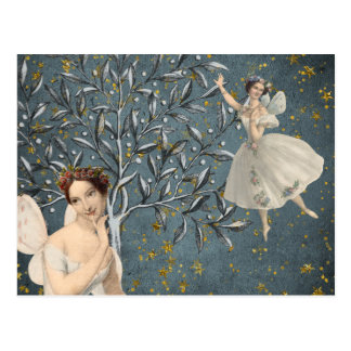 Thoughtful Fairies Postcard