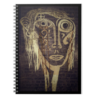 Thoughtful Girl Spiral Notebook