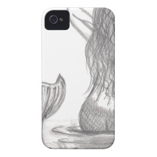 Thoughtful Mermaid Case-Mate iPhone 4 Case