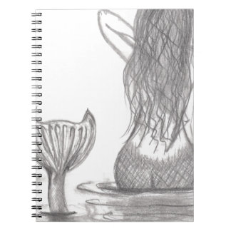 Thoughtful Mermaid Spiral Notebook