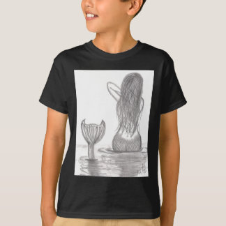 Thoughtful Mermaid T-Shirt