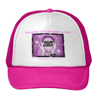 Thoughts And Dreams In Pink Hat Pink Words