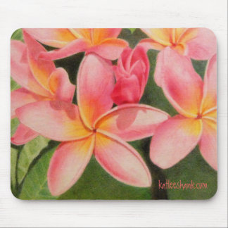 Thoughts of Plumeria mousepad