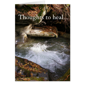 Thoughts to Heal Card