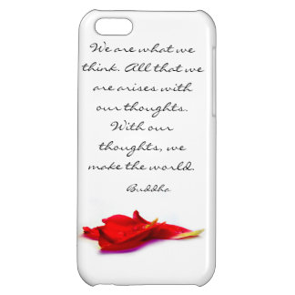 Thoughts World Buddha Quote iPhone 5C Case