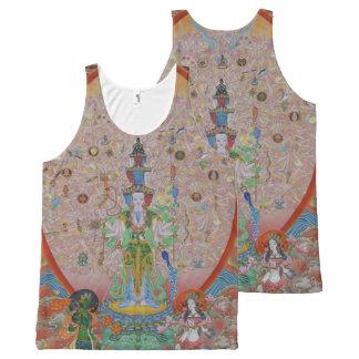 Thousand-Armed Avalokiteshvara All-Over Print Tank