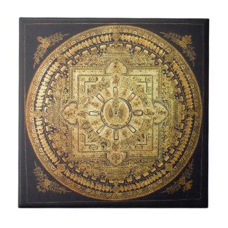 Thousand-Armed Avalokiteshvara Mandala Tile