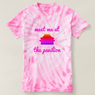 Thousand Islands Park tie-dye top- meet me! T-shirt