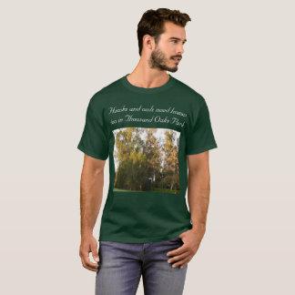 Thousand Oaks golden forest habitat T-Shirt