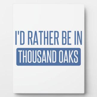 Thousand Oaks Plaque