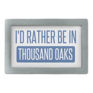Thousand Oaks Rectangular Belt Buckle