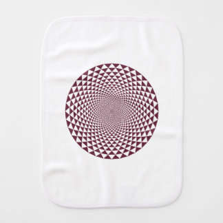 Thousand Petal Lotus Burp Cloth
