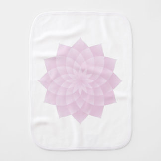 Thousand Petal Lotus, Pink Burp Cloth