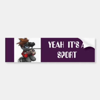thpaintballcartoon[1], YEAH  IT'S A SPORT Bumper Sticker