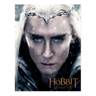 Thranduil Close Up Postcard