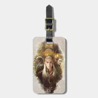 Thranduil, LEGOLAS GREENLEAF™, & TAURIEL™ Graphic Luggage Tag
