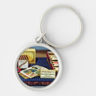Thread And Pins In General Store Keychain