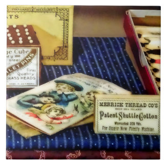 Thread And Pins In General Store Tile