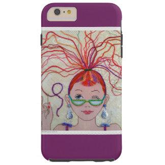 Thread Head iPhone 6+ case, tough Tough iPhone 6 Plus Case