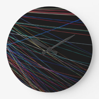 Thread lines from a summer festival wall clock