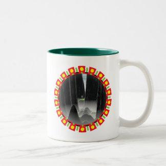 Thread The Needle Two-Tone Coffee Mug
