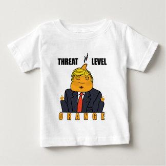 Threat Level Orange Baby T-Shirt