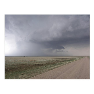 Threatening Storm Postcard