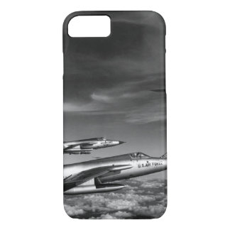 Three Air Force F-105 Thunderchief pilots enroute iPhone 7 Case