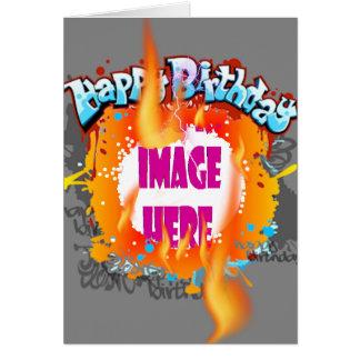 Three Alarm Birthday Greeting Card