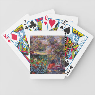 Three amazing masterpieces of Renoir's art Bicycle Playing Cards