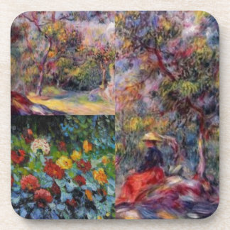 Three amazing masterpieces of Renoir's art Coaster