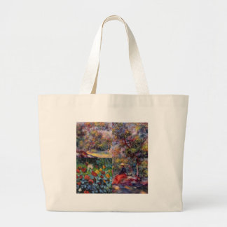 Three amazing masterpieces of Renoir's art Large Tote Bag