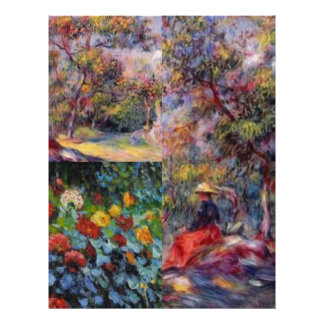 Three amazing masterpieces of Renoir's art Letterhead