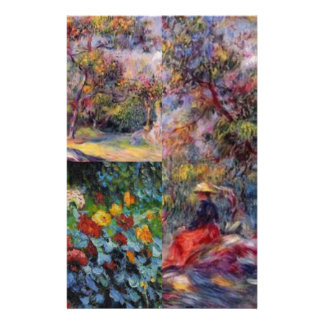 Three amazing masterpieces of Renoir's art Stationery