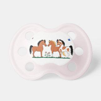 Three Amigos Horse Pacifier