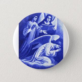 Three Angels 2 Inch Round Button