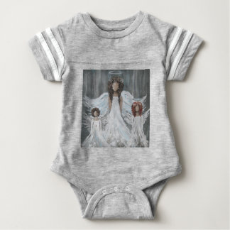 Three Angels Baby Bodysuit