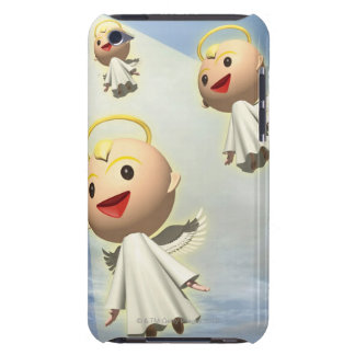 Three Angels, CG, 3D, Illustration, Low Angle iPod Case-Mate Cases