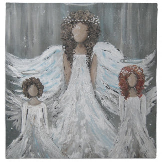 Three Angels Napkin