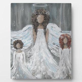 Three Angels Plaque