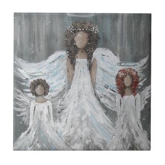 Three Angels Tile