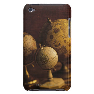 Three antique globes barely there iPod case