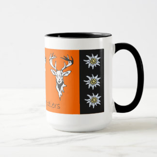Three Antlers Alpine Deer Head Mug