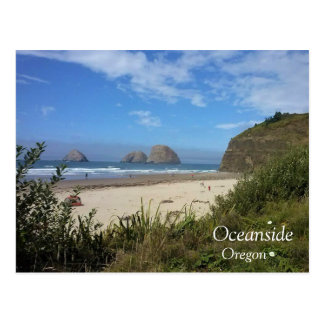 Three Arch Rocks, Oceanside, OR Postcard