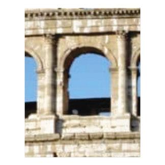 three arch wall letterhead