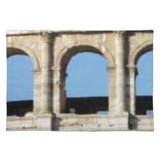 three arch wall placemat