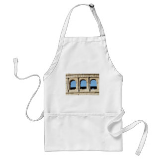 three arch wall standard apron