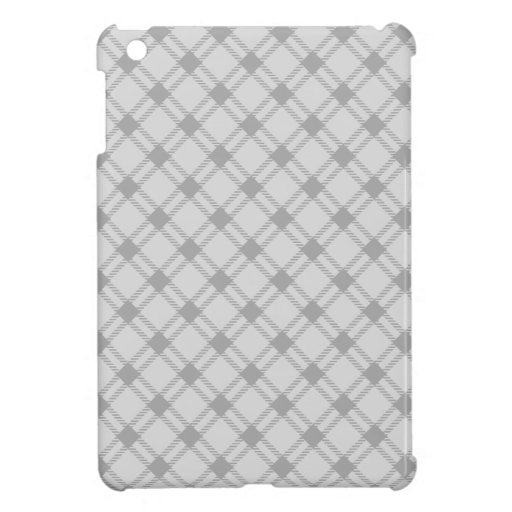Three Bands Large Diamond - Gray1 Cover For The iPad Mini