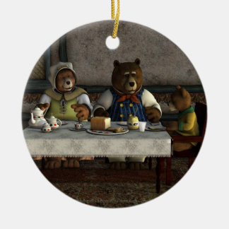 Three Bears Ornament