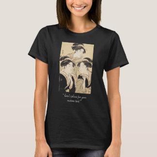 Three Beauties katsukawa shunsho ukiyo-e vintage T-Shirt